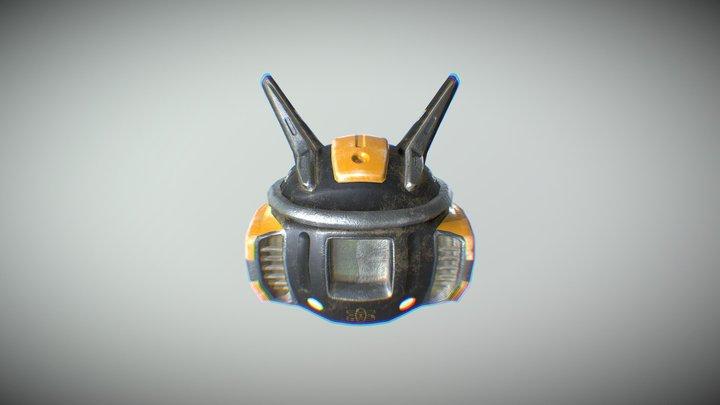 FLOATING ROBOT 3D Model