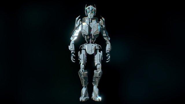 Robot A04 3D Model