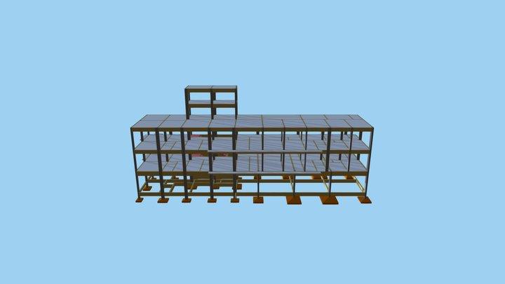 Projeto Estrutural - AP Engenharia - Preliminar 3D Model