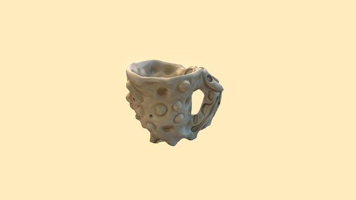 CUP ( c l a y ) 3D Model