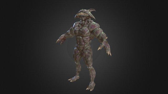 Blind Abomination 3D Model