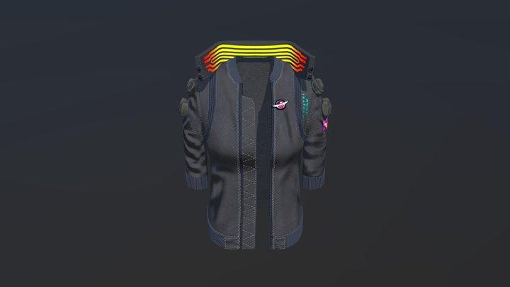 V's Jacket CP2077 3D Model