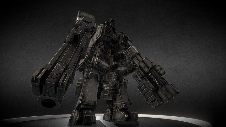 Original Mech 02 3D Model