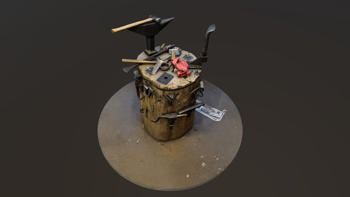 Stumps of the Twin Cities: Arms and Armor 3D Model