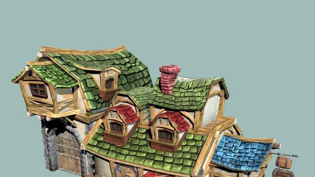Tavern 3D Model