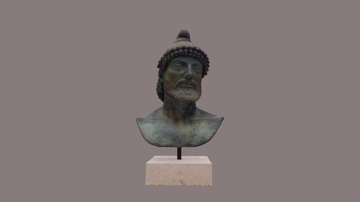 Ulysses, King of Ithaca 3D Model