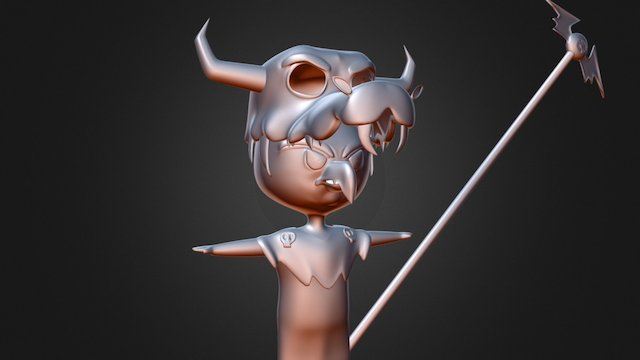 Subdivided Ludo 3D Model