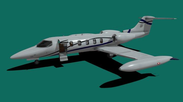 Bombardier Learjet 35A 3D Model