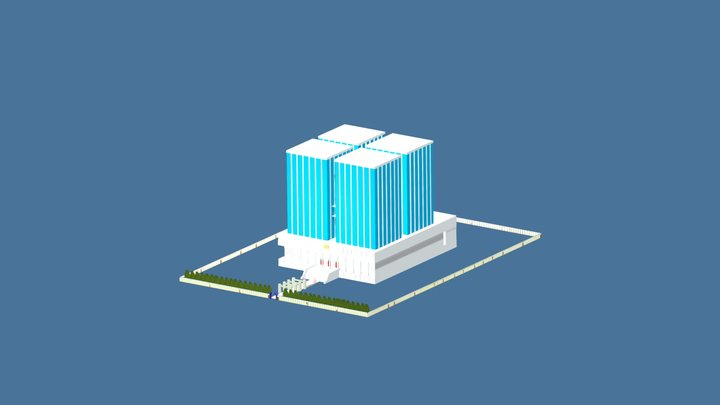 MHA U.A HighSchool 3D Model