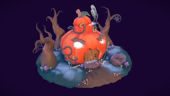 The Pumpkin House 3D Model