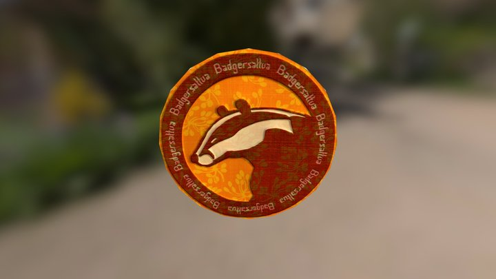 Badgercoinage 3D Model
