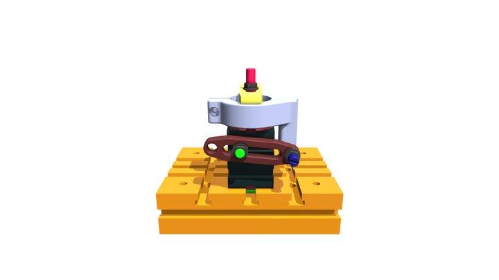 Montage collier de perceuse à colonne PH20 3D Model