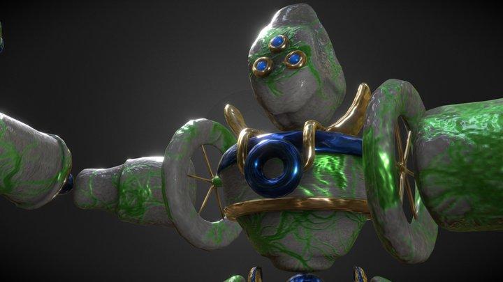 Guardián de Piedra 3D Model
