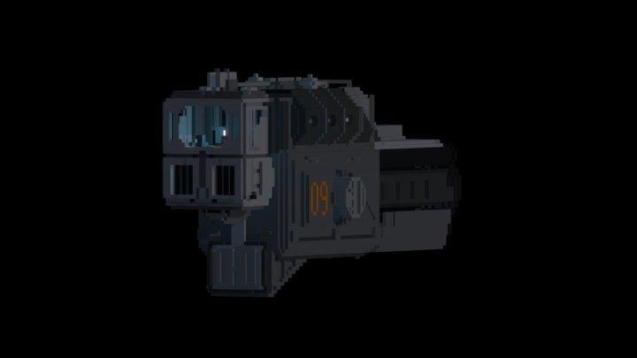 Spaceship 09 3D Model