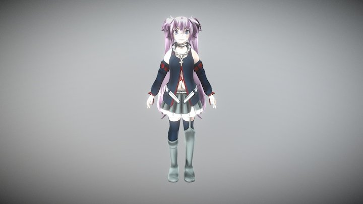Hagane Miku 3D Model