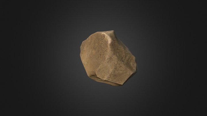Stone for Games 3D Model