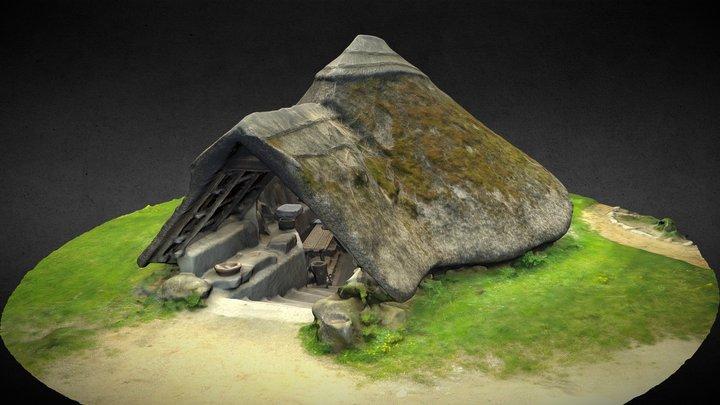 Mitterkirchen - Backhaus 3D Model