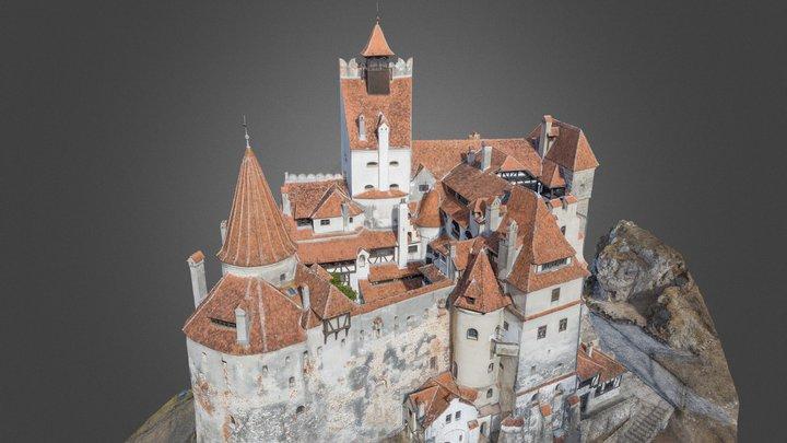 Castelul Bran- Dracula's castle Transylvania 3D Model