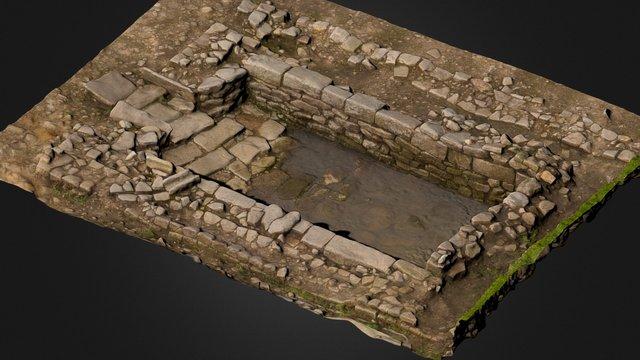 Vindolanda water tank 3D Model