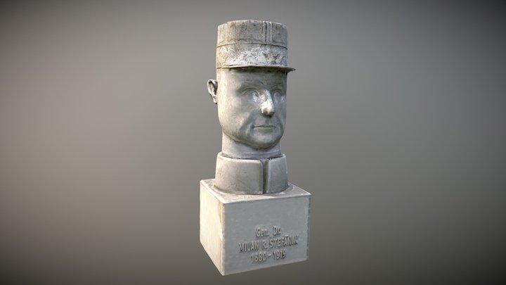 General Milan Rastislav Stefanik 3D Model