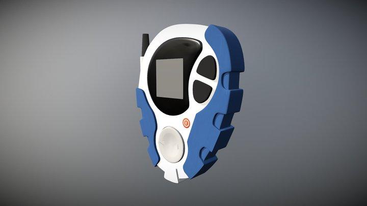 Digimon Adventure 02 Digivice 3D Model