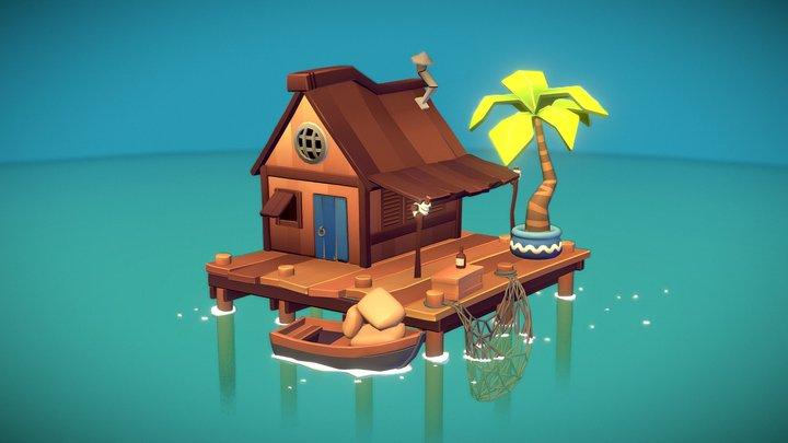 Fisherman's Refuge 3D Model