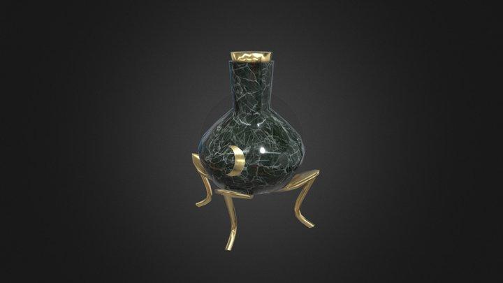 Moon potion flask 3D Model