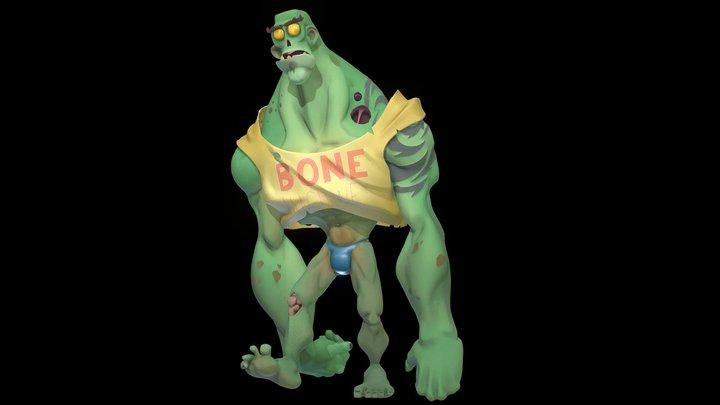 Zombie Bone Machine 3D Model