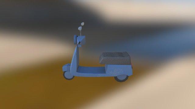 Vespa 3D Model
