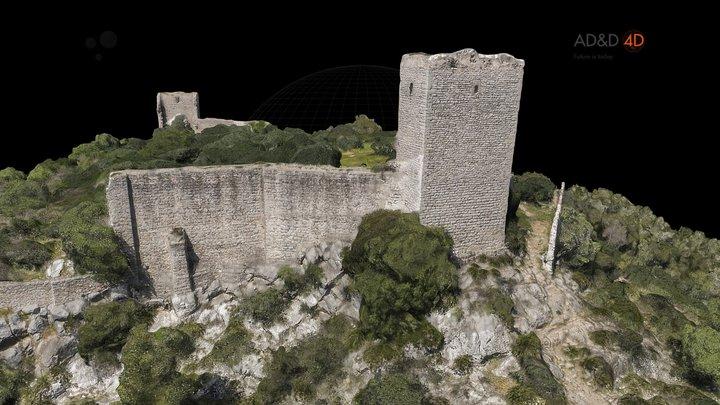 Castle / Sta. Magdalena De Pulpis / Castelló 3D Model