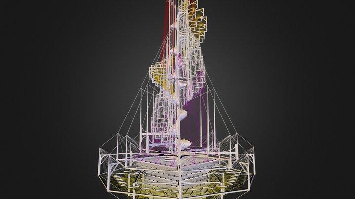 Column 1 3D Model