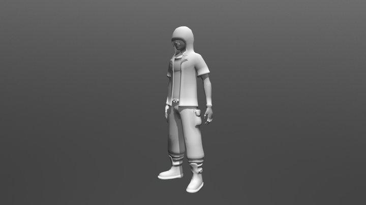 Character - Idle 3D Model