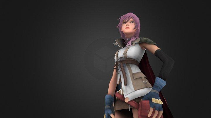 Lightning 3D Model