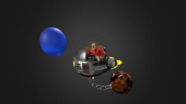 Dr.Eggman Robotnik 3D Model