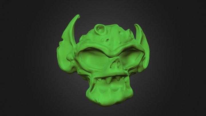 S Monster 3D Model