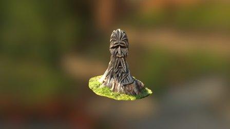 The Green Man - Druid Hill Park 3D Model