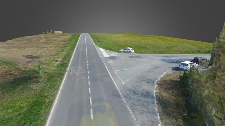 San Francesco al Campo rilievo 3D Model