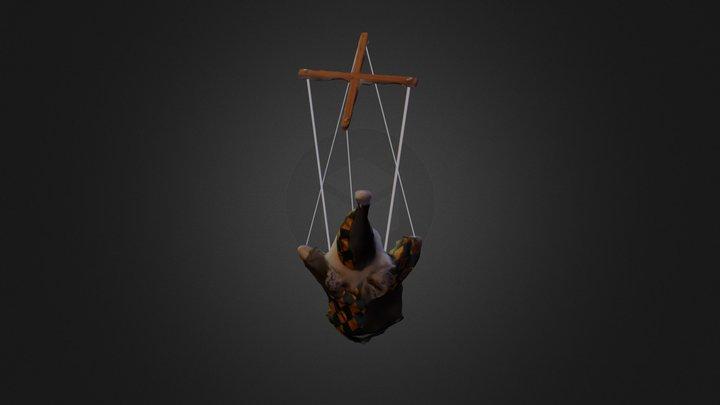 Marionette 3D Model