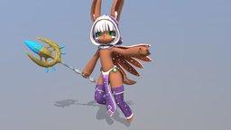 ShockBurn - Wizard Nanachi 3D Model