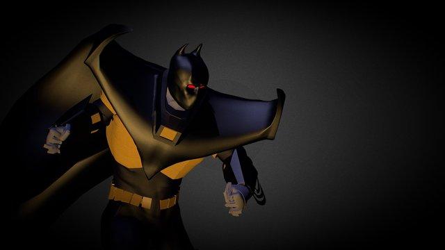 Batman (Knightfall) 3D Model