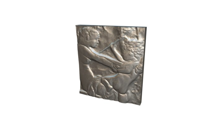 Innocence 00 - Relief Sculpture Scan - Swatch 3D Model