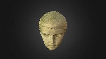 Testa–ritratto di Tiberio Gemello 3D Model