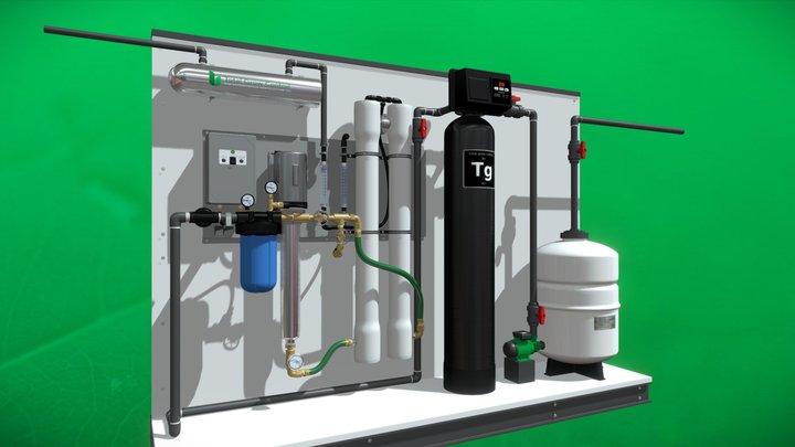 Water Treatment - totalgrowcontrol.com 3600 gal 3D Model