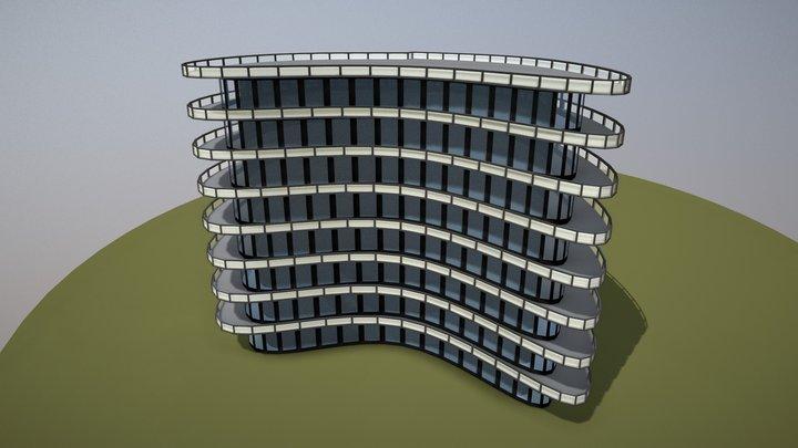 Parametric building 3D Model