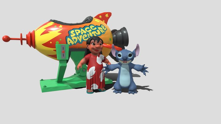 Lilo and Stitch Final 3D Model