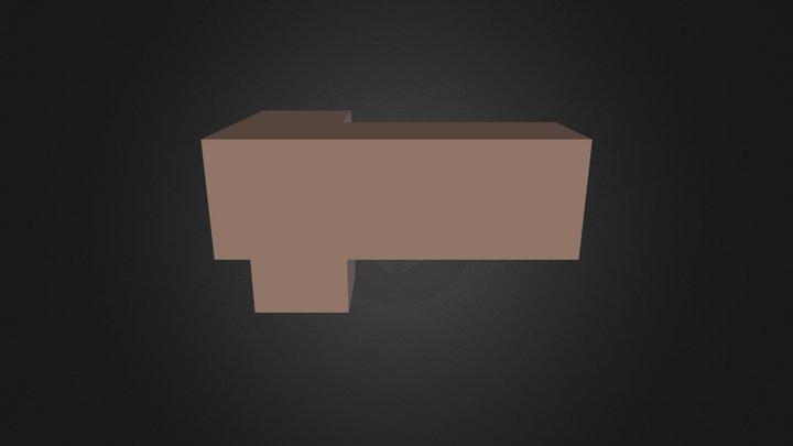 brown piece 3D Model
