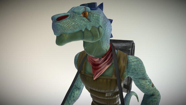 Artek: Dino Hunter 3D Model
