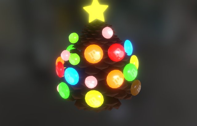GBH Xmas Tree 3D Model