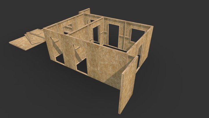 Pine And Ply Site 1 3D Model