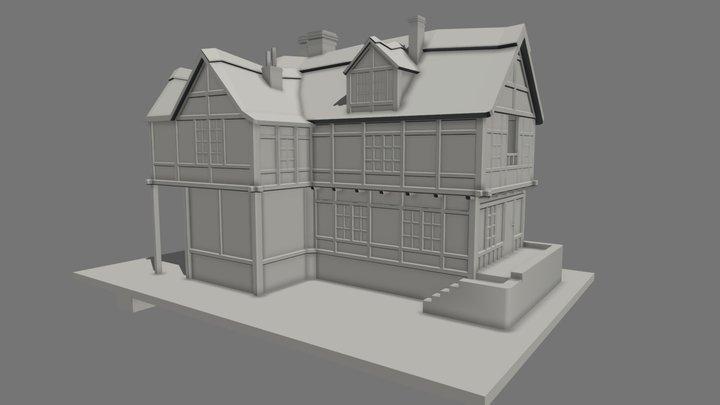 Wip Building 3D Model